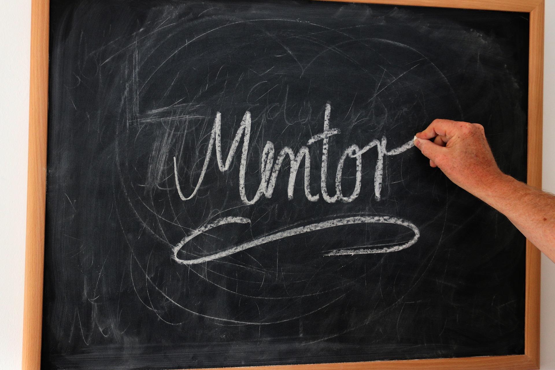 Wie of wat is jouw mentor?