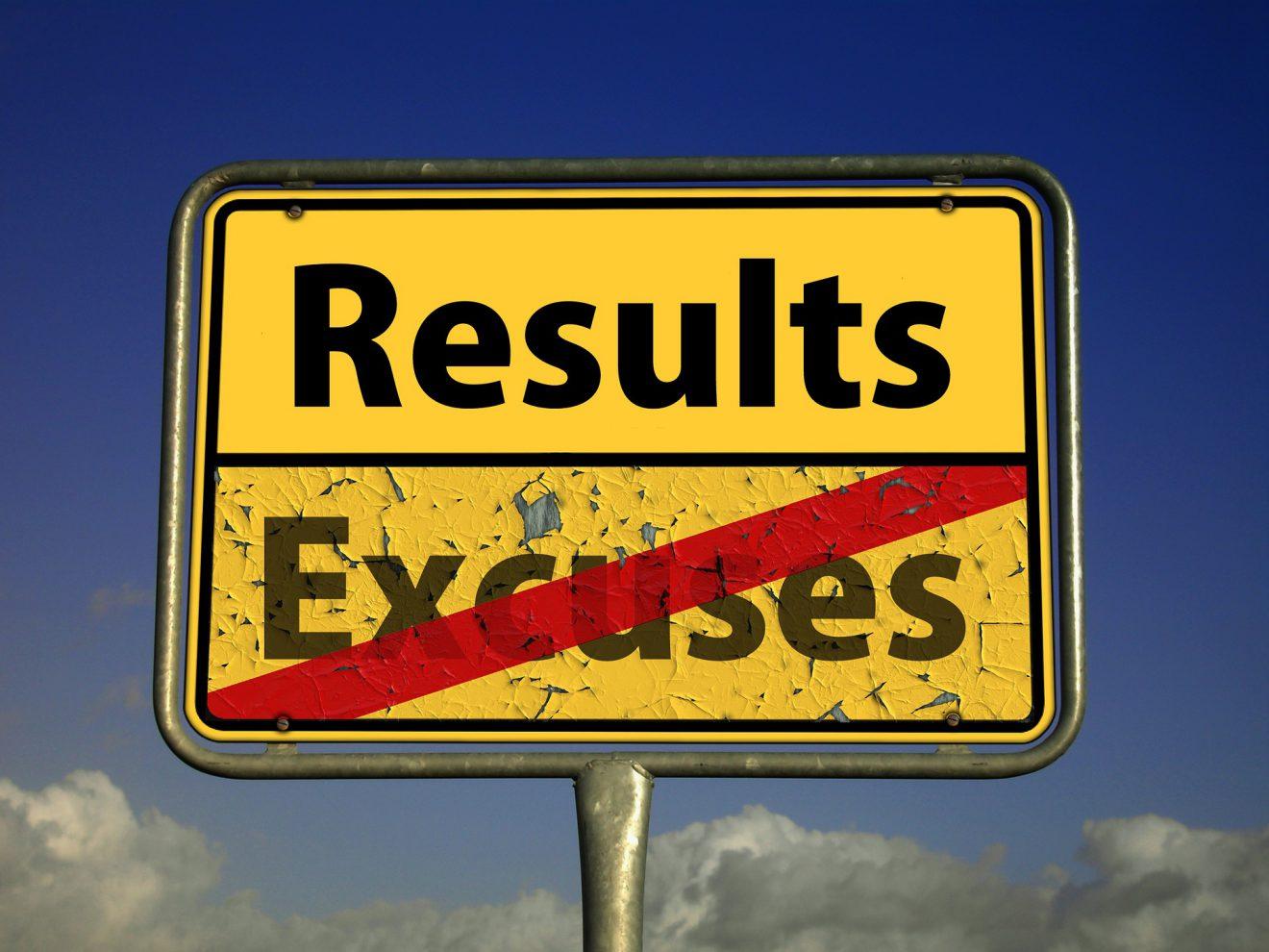te laat results excuses