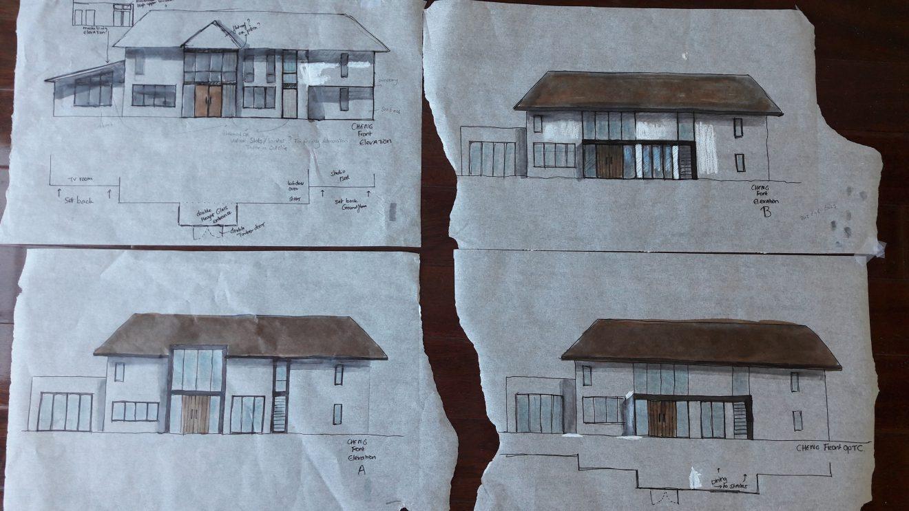 4 ontwerpen voor huizen