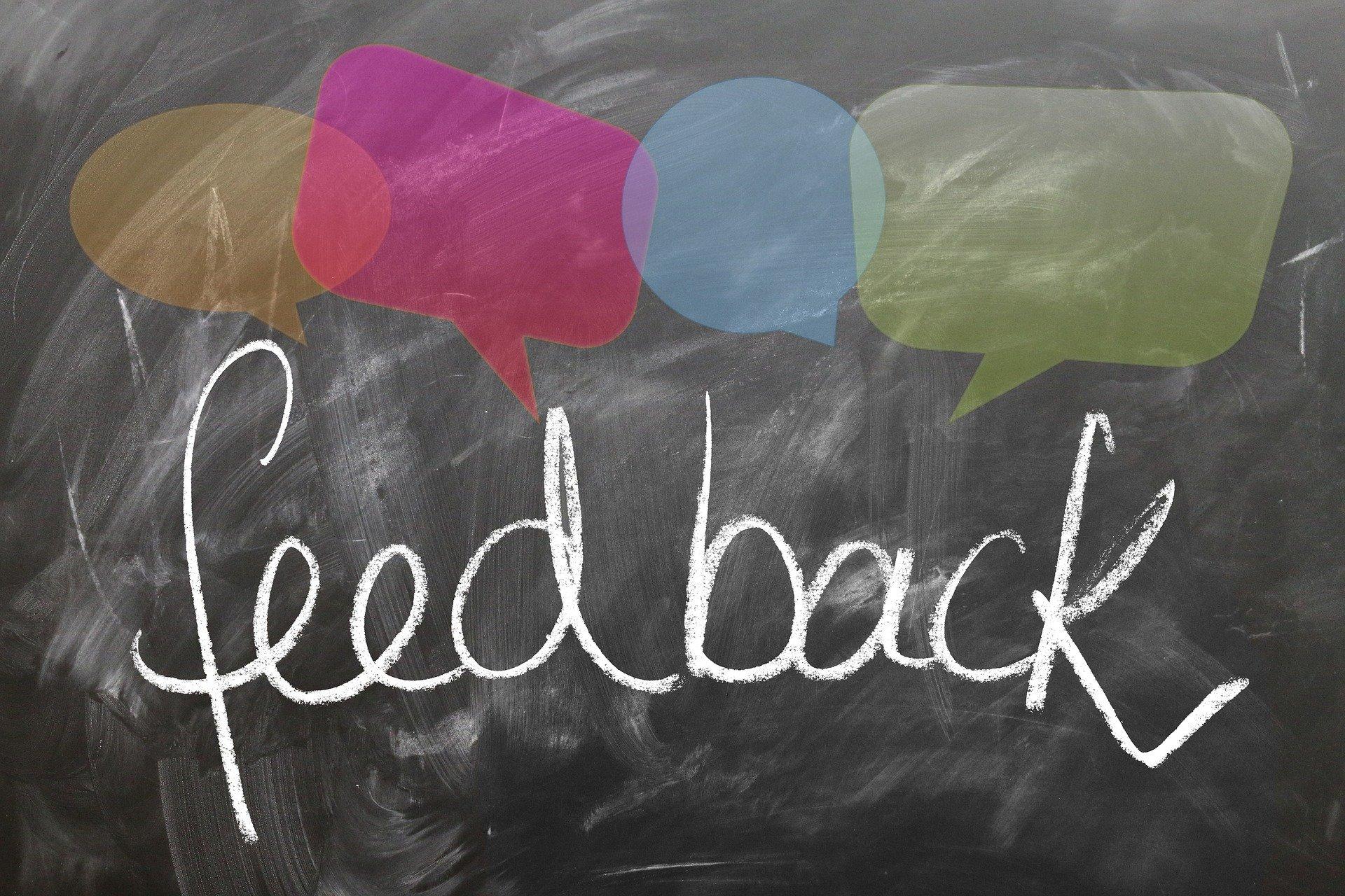 Wat doe jij met feedback?